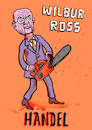 Cartoon: Wilbur Ross Handelsministerium (small) by habild tagged commerce,kabinett,trump