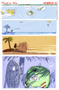 Cartoon: Thats life (small) by portos tagged desert,island,castaway,glass,only
