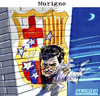 Cartoon: MURIGNO (small) by portos tagged mourinho real madrid barcelona