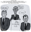 Cartoon: Pittsburgh G20 (small) by portos tagged g20,brown,obama,sarkozy,berlusconi,first,ladies