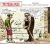 Cartoon: ULTIMA ORA (small) by portos tagged ronde,flop,sicurezza
