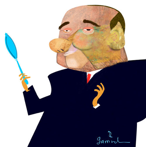 Cartoon: Il Berlusco. (medium) by Garrincha tagged caricatures