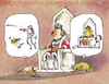 Cartoon: Cats rule (small) by Garrincha tagged gag,cartoons,cats