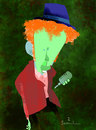 Cartoon: Tom Waits (small) by Garrincha tagged caricatures