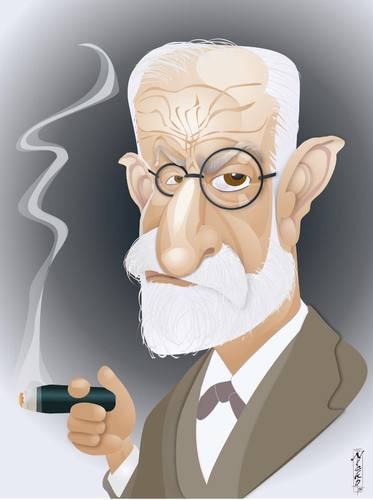 Image result for freud cartoon