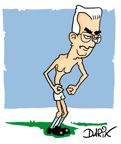 Cartoon: Monti  Goal (medium) by darix73 tagged balotelli,monti