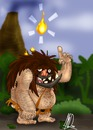 Cartoon: cavemad (small) by Mad tagged caveman,funny,mad