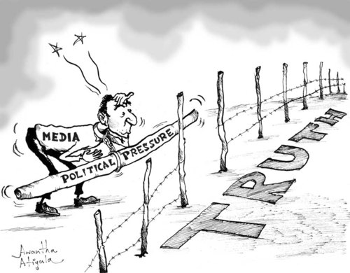 Image result for media cartoons