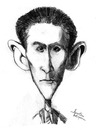Cartoon: Franz Kafka (small) by awantha tagged franz,kafka