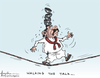Cartoon: Walking tha talk (small) by awantha tagged walking,tha,talk