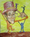 Cartoon: Keith Haring (small) by boogieplayer tagged künstler