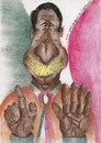 Cartoon: Schnauze halten (small) by boogieplayer tagged italien