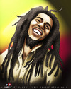 Cartoon: BOB MARLEY (small) by saadet demir yalcin tagged saadet,sdy,syalcin,bobmarley,music,peace