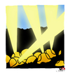 Cartoon: mine... death... (small) by saadet demir yalcin tagged syalcin