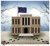 Cartoon: European Union (small) by saadet demir yalcin tagged saadet,sdy,europeanunion,economiccrisis,money,flag