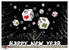 Cartoon: Happy New Year Toonpool Family! (small) by saadet demir yalcin tagged saadet,sdy,happynewyear,2012