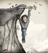 Cartoon: Helplessness... (small) by saadet demir yalcin tagged saadet,sdy