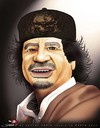 Cartoon: Kaddafi... (small) by saadet demir yalcin tagged saadet,sdy,syalcin,turkey,libya,world,war,dictatorship