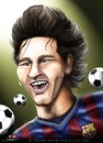 Cartoon: Lionel Messi (small) by saadet demir yalcin tagged saadet,sdy,messi