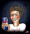 Cartoon: Love Bull (small) by saadet demir yalcin tagged saadet,sdy,syalcin,turkey,drink,love,humor