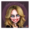 Cartoon: MADONNA (small) by saadet demir yalcin tagged syalcin