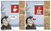 Cartoon: Mistake (small) by saadet demir yalcin tagged saadet,sdy,mistake,coffee