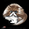 Cartoon: Persian Cat  - 2 (small) by saadet demir yalcin tagged saadet,sdy,cat