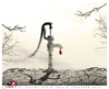 Cartoon: RED DROP (small) by saadet demir yalcin tagged saadet,sdy,drought,reddrop,nature