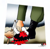 Cartoon: S.O.S. - 2 (small) by saadet demir yalcin tagged gazze,syalcin