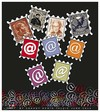 Cartoon: Stamp (small) by saadet demir yalcin tagged saadet,sdy,internet,stamp