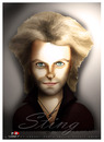 Cartoon: Sting (small) by saadet demir yalcin tagged sting,syalcin,sdy,turkey