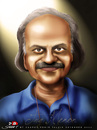 Cartoon: TVG Menon (small) by saadet demir yalcin tagged saadet,sdy,india,turkey,tvgmenon,kar2nist,portrait