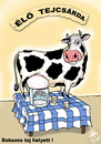 Cartoon: AUTOMATIC MILK LIVE (small) by T-BOY tagged automatic,milk,live