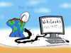 Cartoon: WikiLeaks (small) by T-BOY tagged be,out