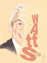 Cartoon: CHARLIE WATTS (small) by T-BOY tagged charlie,watts