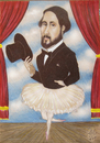 Cartoon: Edgar Degas (small) by T-BOY tagged edgar,degas