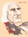 Cartoon: FRANZ LISZT (small) by T-BOY tagged franz,liszt