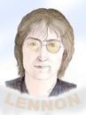 Cartoon: LENNON (small) by T-BOY tagged lennon