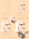 Cartoon: LISZT FERENC (small) by T-BOY tagged liszt,ferenc