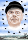 Cartoon: MAGRITTE (small) by T-BOY tagged magritte