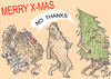 Cartoon: MERRY   X MAS (small) by T-BOY tagged merry,mas