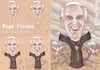 Cartoon: Pope Francis (small) by T-BOY tagged pope,francis