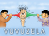 Cartoon: WORLD CUP 2010 VUVUZELA (small) by T-BOY tagged vuvuzela