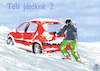 Cartoon: WINTER GAME 2 (small) by T-BOY tagged winter,game