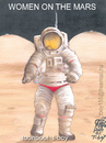 Cartoon: WOMEN ON THE MARS (small) by T-BOY tagged women,on,the,mars