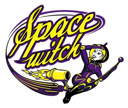 Cartoon: space witch (medium) by Braga76 tagged space,witch