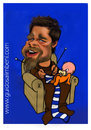 Cartoon: Brad Pitt (small) by guidosalimbeni tagged brad,pitt
