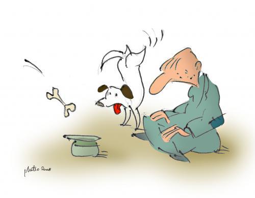 Poem - The beggar