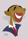 Cartoon: barack obama (small) by geomateo tagged barack,obama,president,usa