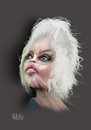 Cartoon: Brigitte Bardot (small) by geomateo tagged brigitte,bardot